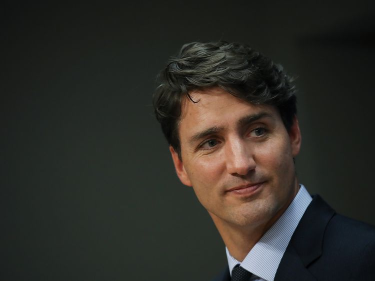 Justin Trudeau has admitted to smoking pot in the past