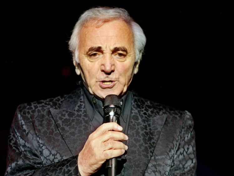 Charles Aznavour in 2002