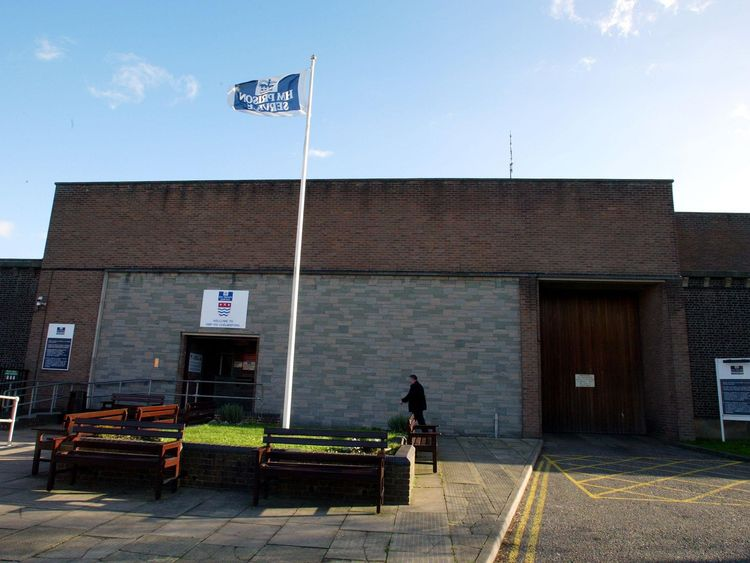 Chelmsford Prison had the highest amount of prisoners on drugs