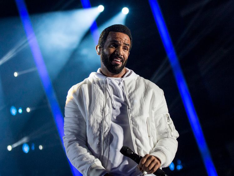 Craig David performs during The Indonesia Choice Award 2018 at Sentul International Convention Centre on April 29, 2018 in Bogor, Indonesia