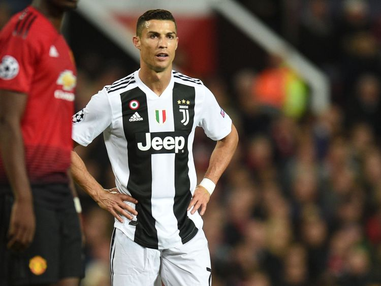 The match marked the return to Manchester of Cristiano Ronaldo
