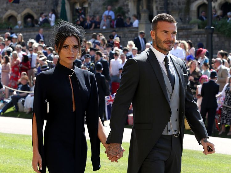 Beckham praised his wife's success in the fashion business