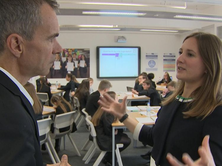 Teacher Constance Walker says the debates help students broaden their views