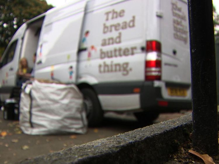 """The food redistribution service """"The Bread and Butter Thing"""" helps some families in Oldham"""