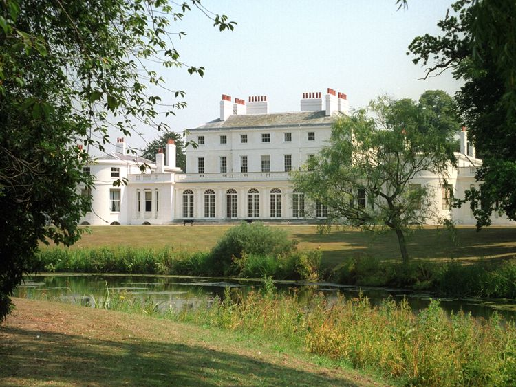 Frogmore House in Berkshire