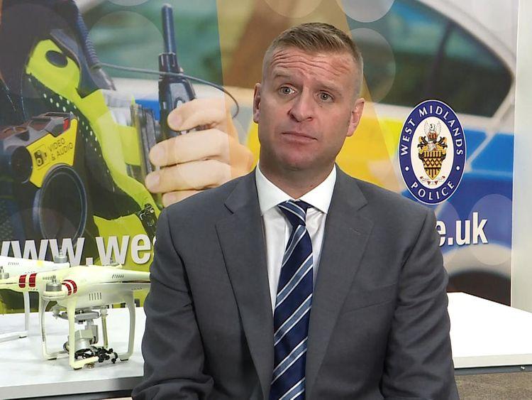 Detective Inspector Gareth Williams from the Prison Investigation Team, investigating the drug drones