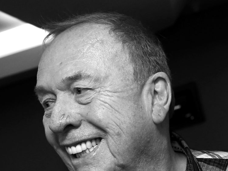 Geoff Emerick at the NAMM Show 2018 at the Anaheim Convention Center on January 25, 2018 in Anaheim, California