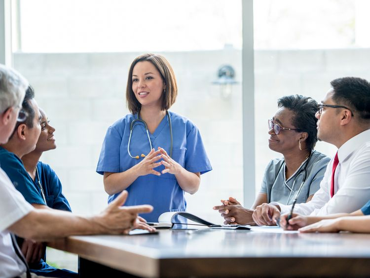 The group appointments will take around two hours and include up to 15 patients. Pic: istock