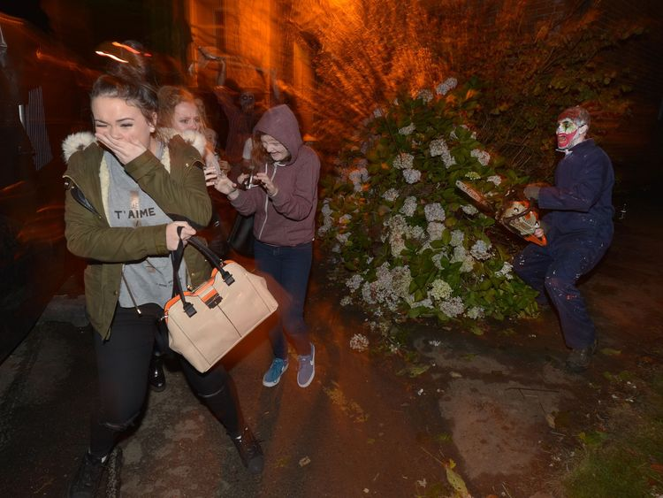 Londonderry hosts the largest halloween parade in Europe