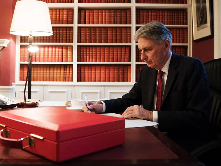 Philip Hammond's budget facing mounting scrutiny