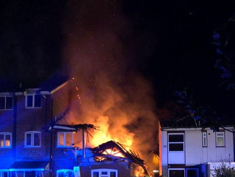 Fire in Harrow