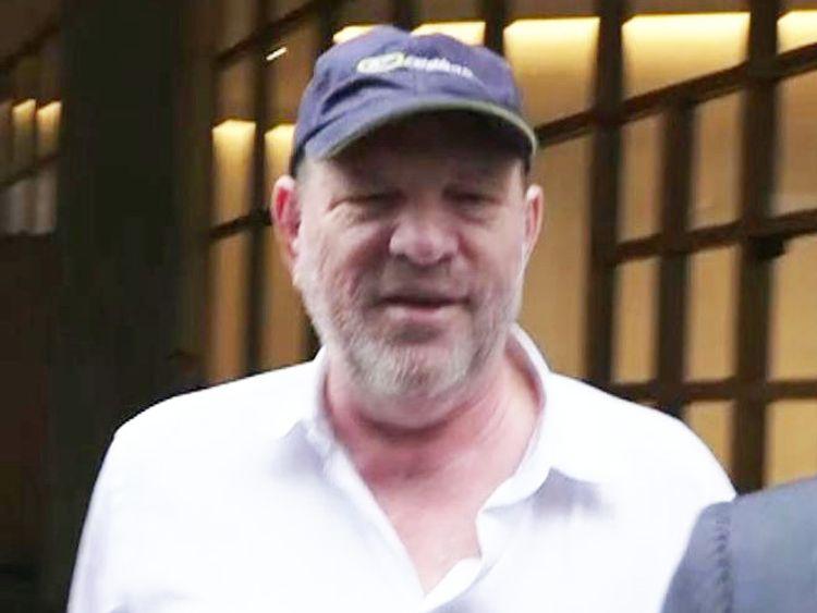 Harvey Weinstein in New York, one year after allegations against him emerged