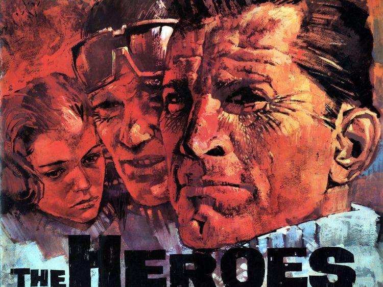 The Heroes of Telemark starred Kirk Douglas and Richard Harris