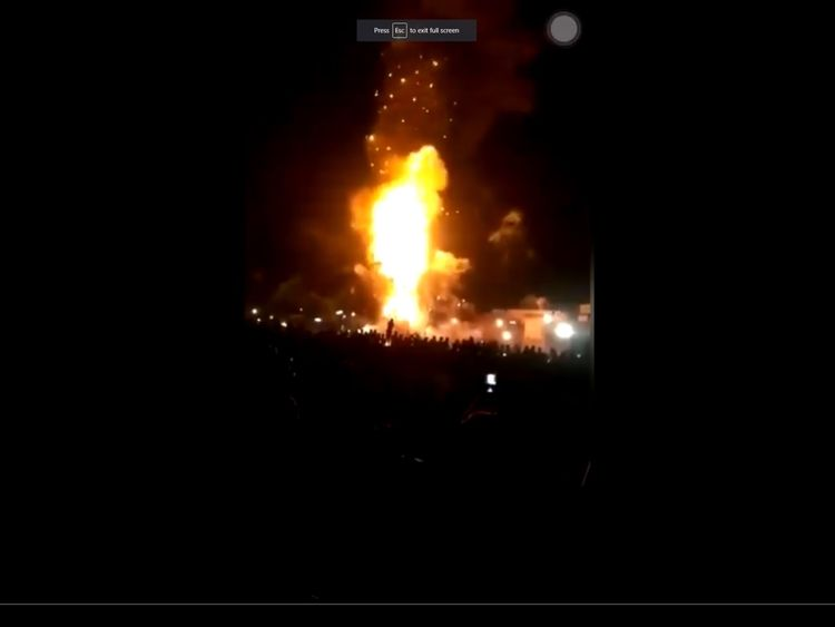 At least 50 dead as train hits crowd watching fireworks in India