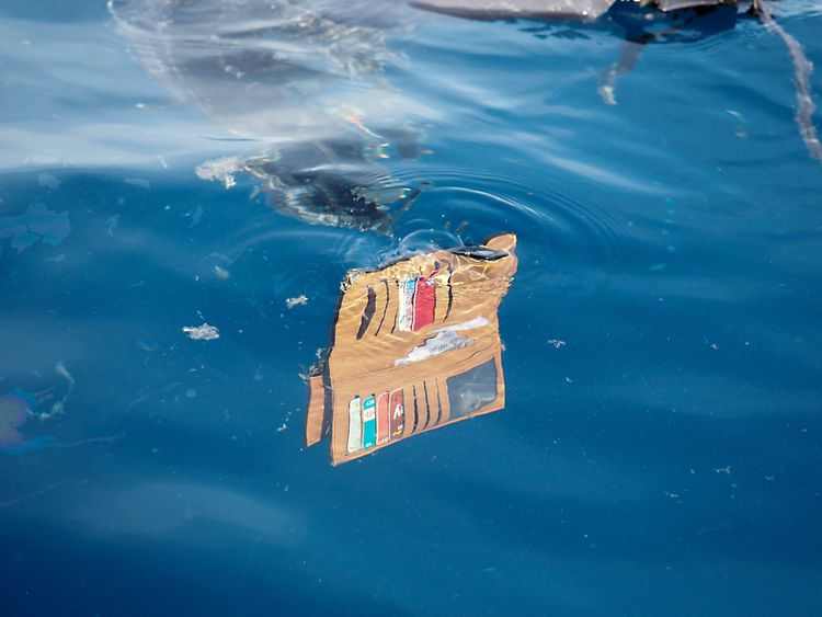 A wallet belonging to a passenger of the ill-fated Lion Air flight JT 610 floats at sea in the waters north of Karawang, West Java province, on October 29, 2018. - All 189 passengers and crew aboard a crashed Indonesian Lion Air jet were 'likely' killed in the accident, the search and rescue agency said on October 29, as it announced it had found human remains. (Photo by ARIF ARIADI / AFP) (Photo credit should read ARIF ARIADI/AFP/Getty Images)