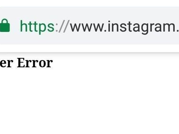 Instagram app and website global outage