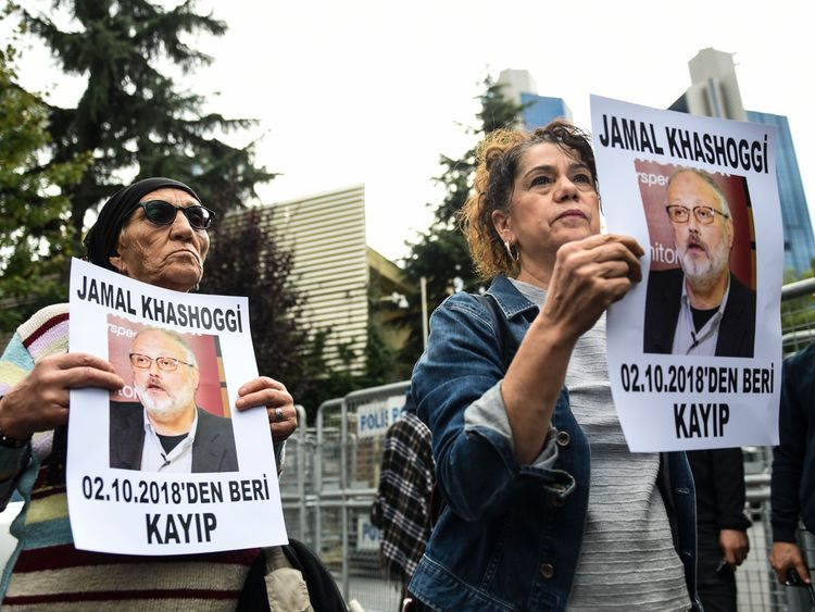 Jamal Khashoggi has not been seen since he went into the consulate