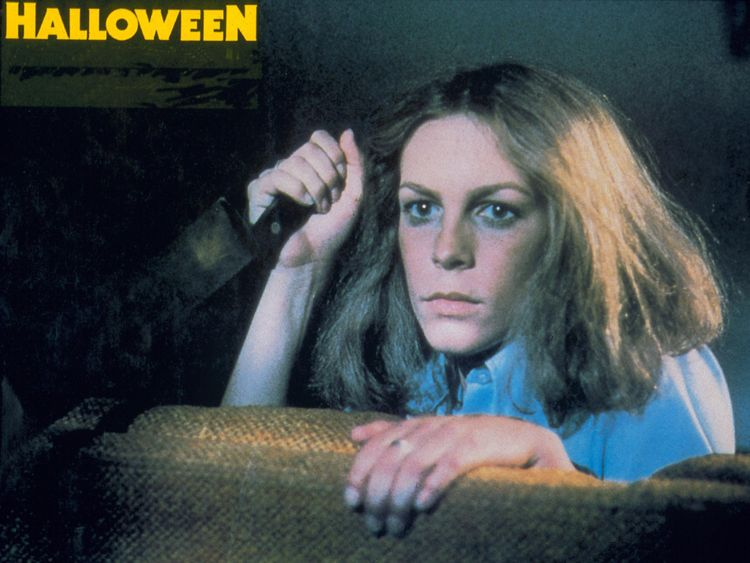 Jamie Lee Curtis in Halloween in 1978