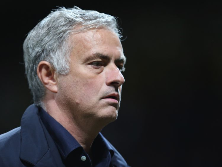 Image    Jose Mourinho was sacked as Manchester United manager on Tuesday