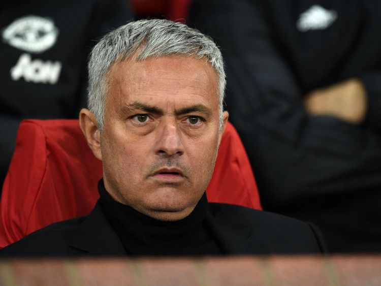 Jose Mourinho made it to Old Trafford well before his players