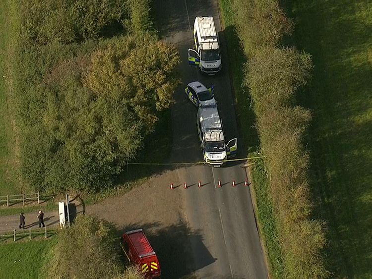 Scratchers Lane in Fawkham, near Brands Hatch, is one of the areas being searched