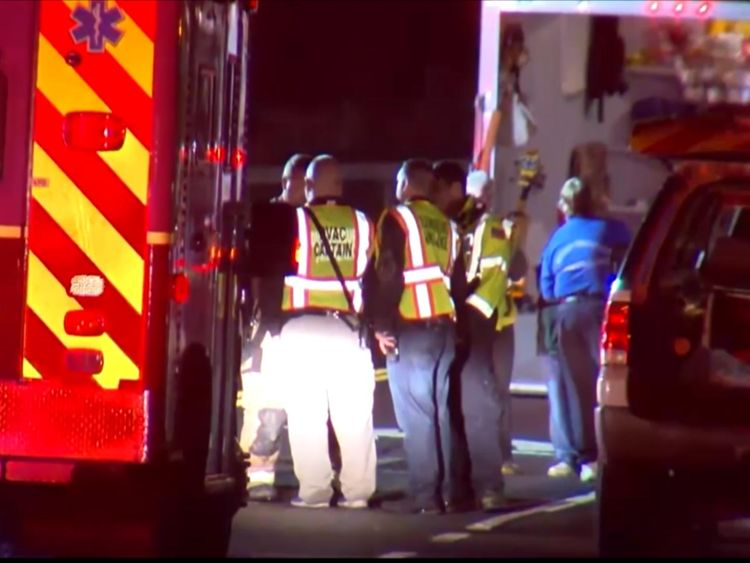 20 people killed after limousine crashes into vehicle, pedestrians
