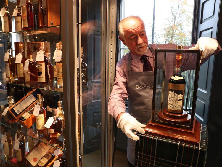 Macallan Valerio Adami whisky