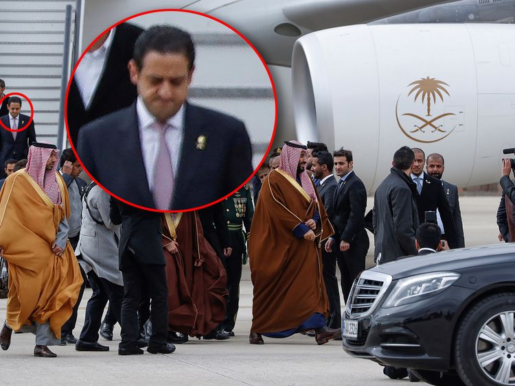 Arabia's Crown Prince Mohammed bin Salman visits Spain. Pic: Emilio Naranjo/EPA-EFE/REX/Shutterstock