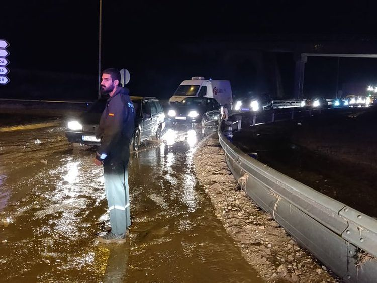 Two Britons killed in taxi among five dead in Majorca flash floods