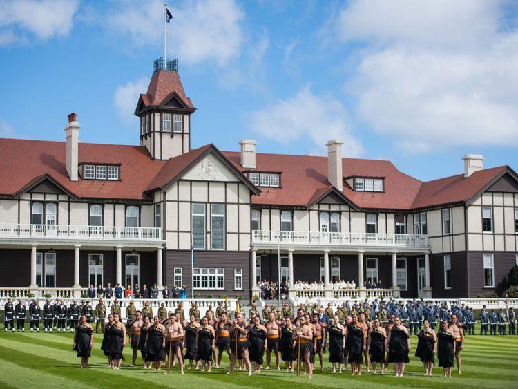 Duke and Duchess of Sussex begin New Zealand tour