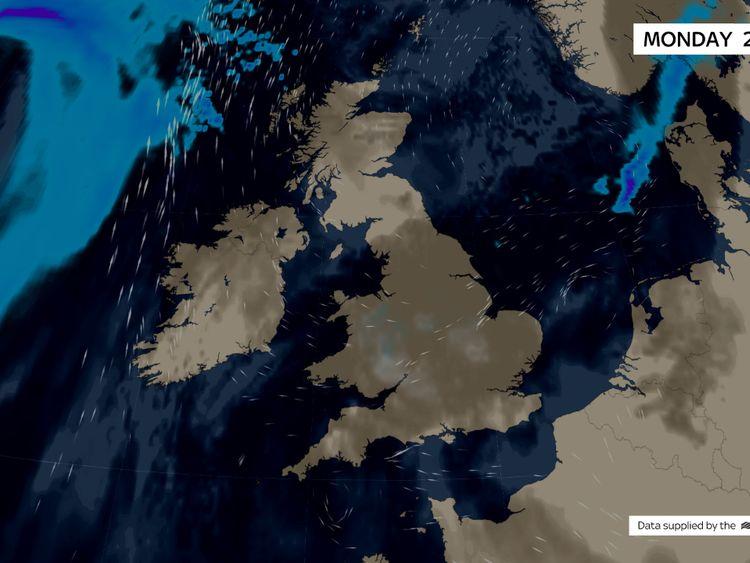 Uk Weather The Latest Sky News Forecast
