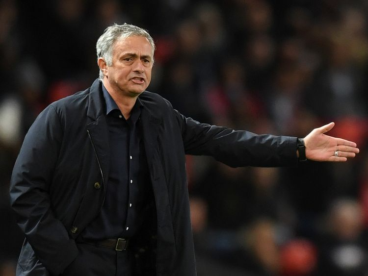 Jose Mourinho blamed the lack of a police escort on the team's tardiness