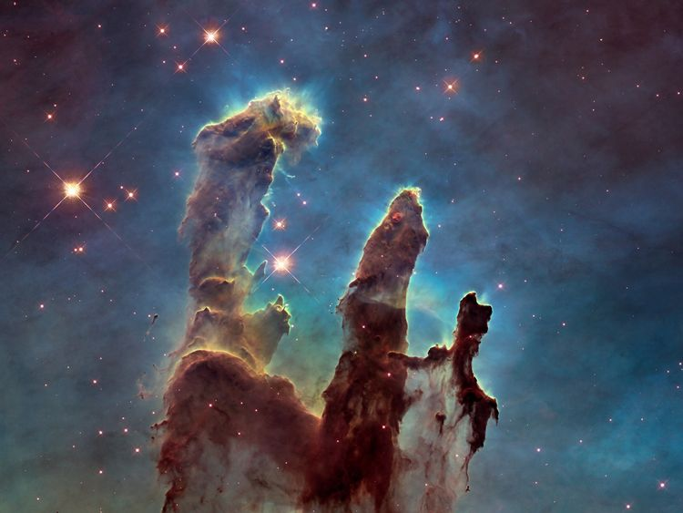 Image    Hubble's image of the Pillars of Creation is among the most famous ever taken