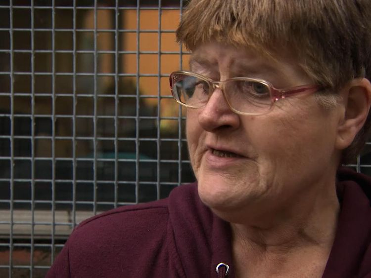 Sandra, whose daughter has learning difficulties, relies on a food charity