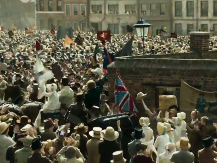 Peake warns class divide may lead to new Peterloo Massacre