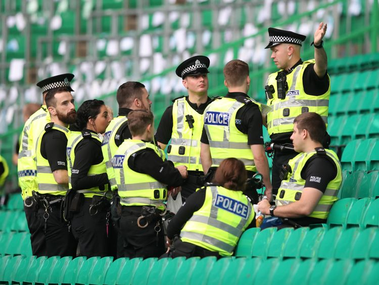 Police Scotland have a special unit to provide a consistent approach to policing football matches