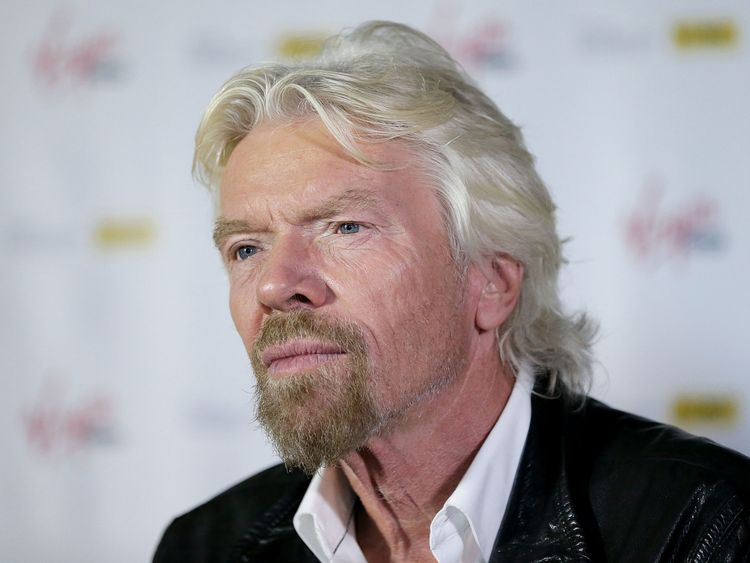 Sir Richard Branson has suspended relations with Saudi Arabia