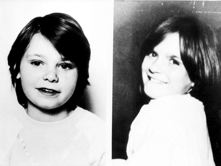 Karen Hadaway (left) and Nicola Fellows were murdered in October 1986