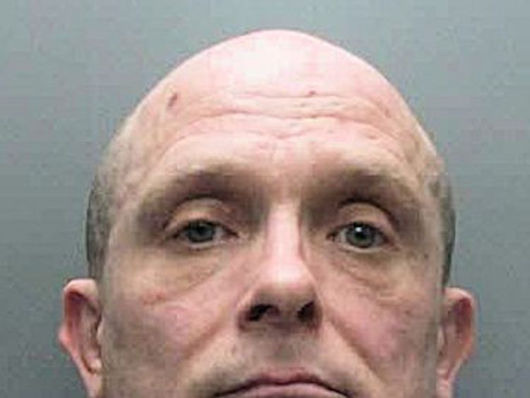Russell Bishop is facing trial for the second time over the murders. Pic: Sussex Police