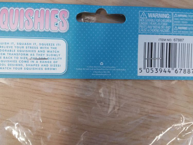 The toy is manufactured in China