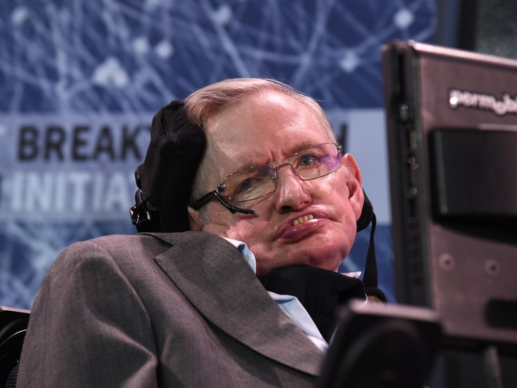 Stephen Hawking wheelchair, thesis up for sale