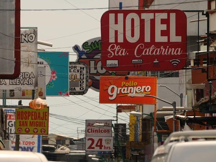 Tapachula, near the border between Mexico and Guatemala