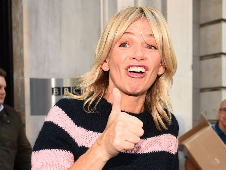 Zoe Ball to replace Chris Evans on Radio 2 breakfast