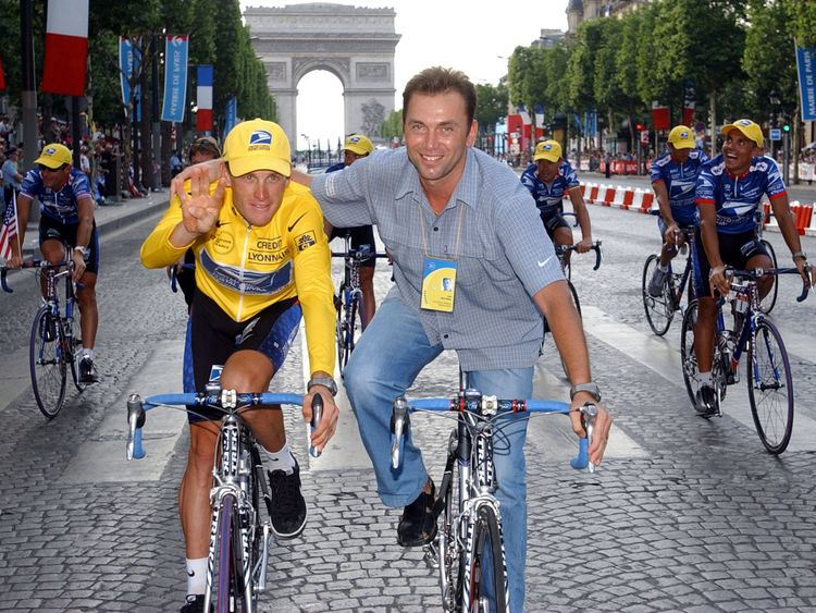 9c13351ea Lance Armstrong s former team manager handed lifetime ban from cycling