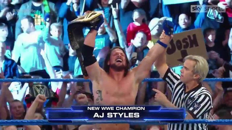 online store 18117 1865b WATCH  AJ Styles wins the title in Manchester