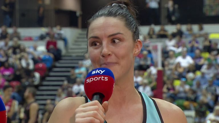 Layton spoke to Sky Sports' Di Dougherty about Fast5 All-Stars experience