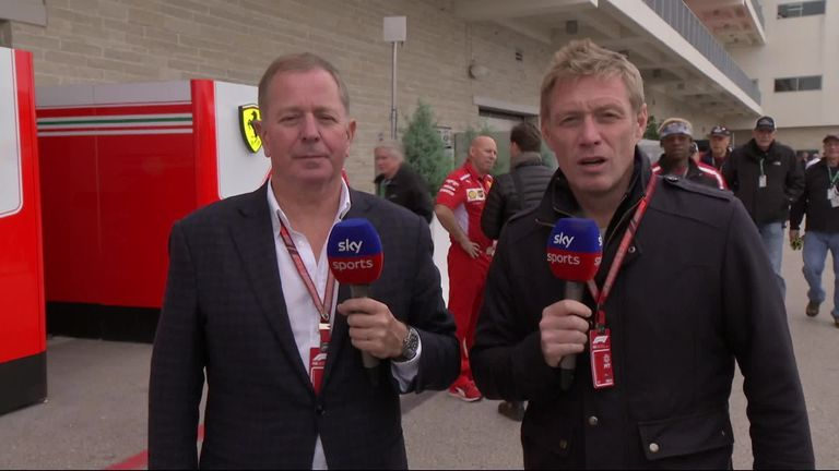 2:17                                            Simon Lazenby and Martin Brundle discuss the major talking points ahead of the United States GP