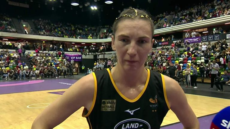Dunn of Wasps was awarded the Fast5 All-Stars player of the tournament