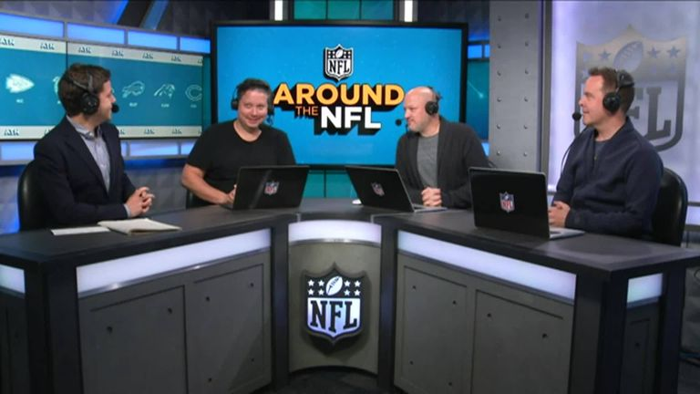 We hear from the Around the NFL podcast team and get their take on Week 8 in the NFL.