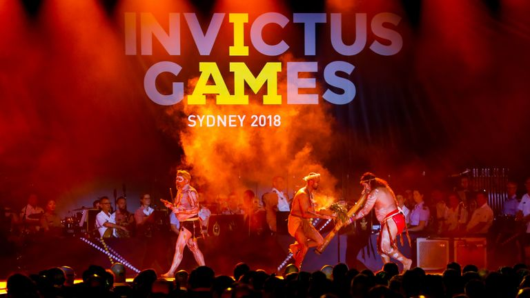 Opening ceremony of the Invictus Games